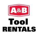A AND B RENTALS LOGO SQUARE